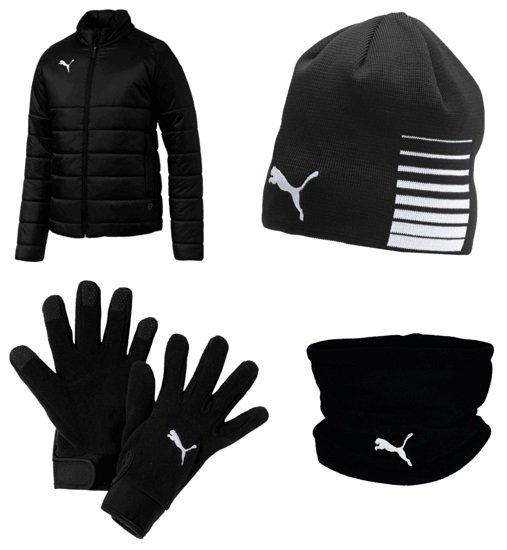 4-teiliges Puma Winterset (Winterjacke, Handschuhe, Mütze & Neckwarmer) für 69,95€ (statt 81€)