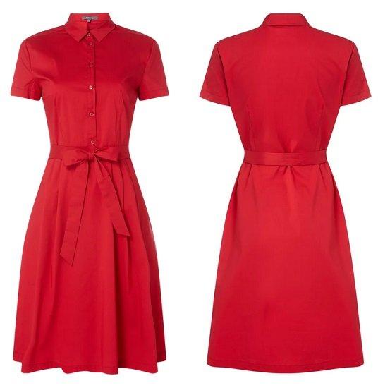 Montego Kleid mit Taillengürtel für 31,49€ (statt 60€)