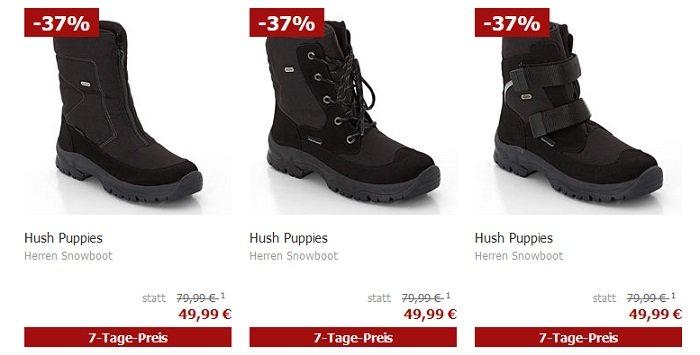 Hush Puppies Schuhe im Sale + 20% Extra, z.B. Herren Snowboots…