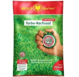 Wolf Garten Turbo-Nachsaat LR 250 Rasensamen für 33€ inkl. VSK (statt 44€)