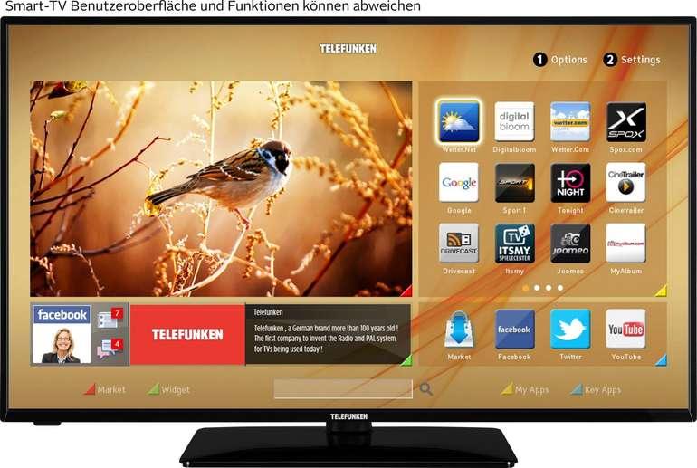 Telefunken D43U551N1CW LED-Fernseher mit 43 Zoll (4K Ultra HD, Smart-TV) für 244,54€ inkl. Versand (statt 329€)
