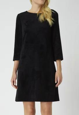 Christian Berg Woman Kleid in Veloursleder-Optik in schwarz für 37,49€ inkl. Versand (statt 50€)