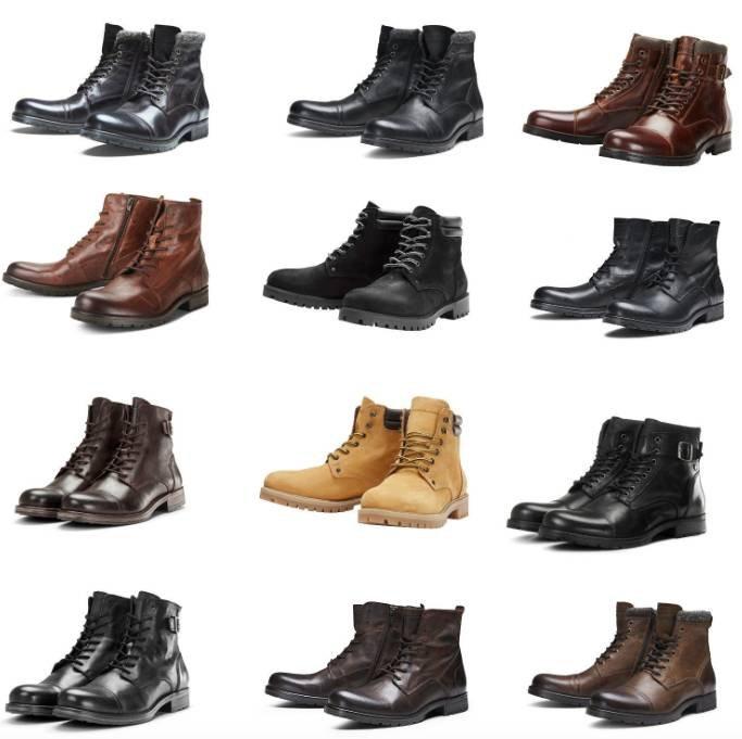 Jack & Jones Stiefel & Echtleder Boots für je 69,99€ inkl. Versand