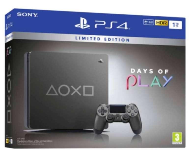 Sony PlayStation 4 (PS4) Slim 1TB Days of Play Limited Edition für 253,80€