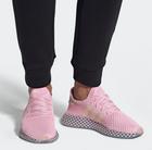 "Adidas Damen Sneaker Deerupt Runner ""Clear Pink/Hi-Res Yellow"" für 54,97€"