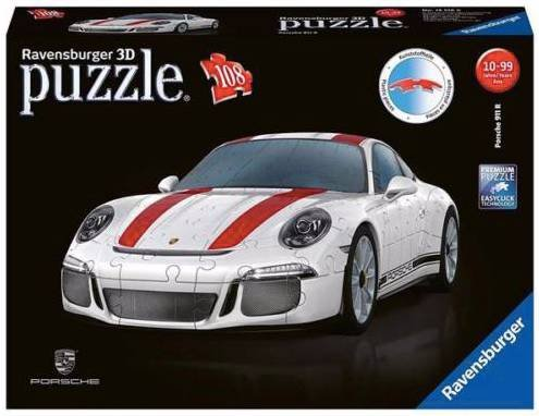3D Puzzle: Ravensburger 12528 Porsche 911 R für 19,99€ (Vergleich: 24€)