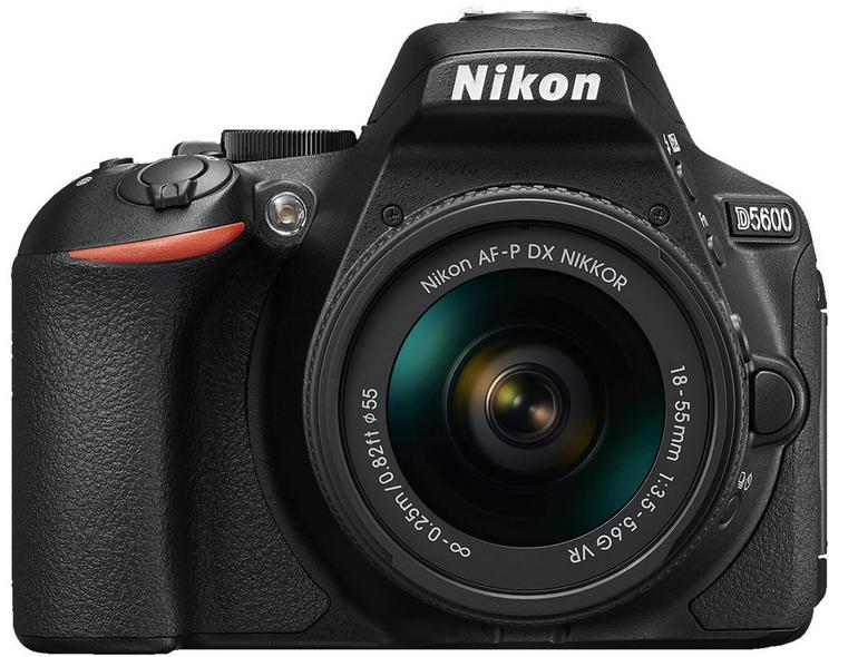 Nikon Spiegelreflexkamera D5600 Kit mit 18-55mm Objektiv für 448,99€ inkl. VSK
