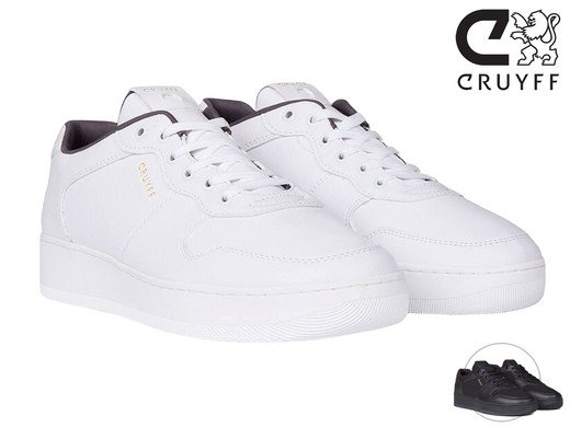 Cruyff Indoor Royal Herren-Sneakers in Weiß oder Schwarz für 42,90€ inkl. Versand (statt 60€)