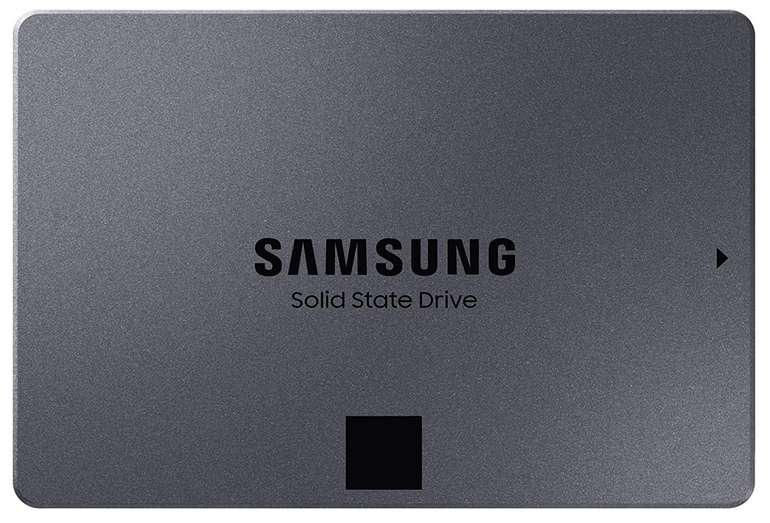 Samsung 870 QVO - 2,5 Zoll SATA SSD mit 1TB Speicher für 74,90€ inkl. Versand (statt 86€)