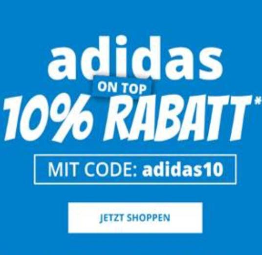 Nur Heute! Happy Birthday: 10% Extra-Rabatt auf alles von Adidas bei SportSpar