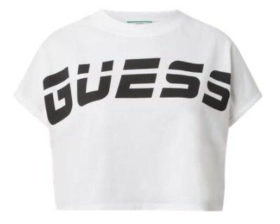 Guess Activewear Cropped Shirt aus Bio-Baumwolle in zwei Farben für je 19,99€ inkl. Versand (statt 26€)