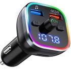 Omorc Bluetooth FM Transmitter mit 7 LED Farben & USB + SD Unterstützung für 12,99€ - Prime!