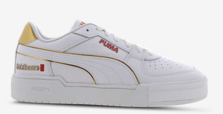 Puma CA Pro Herren Schuh in Weiß/Gold für 69,99€inkl. Versand (statt 100€)
