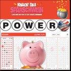 1 Powerball Tipp (596 Millionen € Jackpot) + 20 Rubbellose für 1,99€