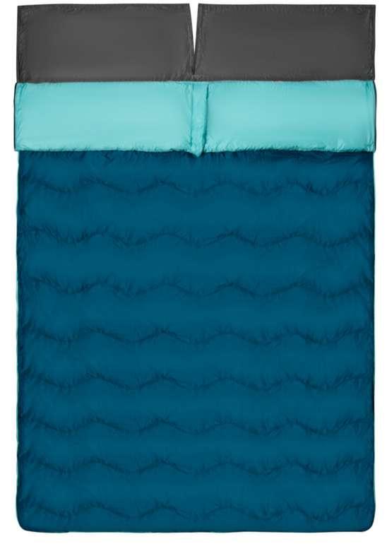 Jack Wolfskin 4-in-1 Decke Schlafsack in Blau für 59,99€inkl. Versand (statt 76€)