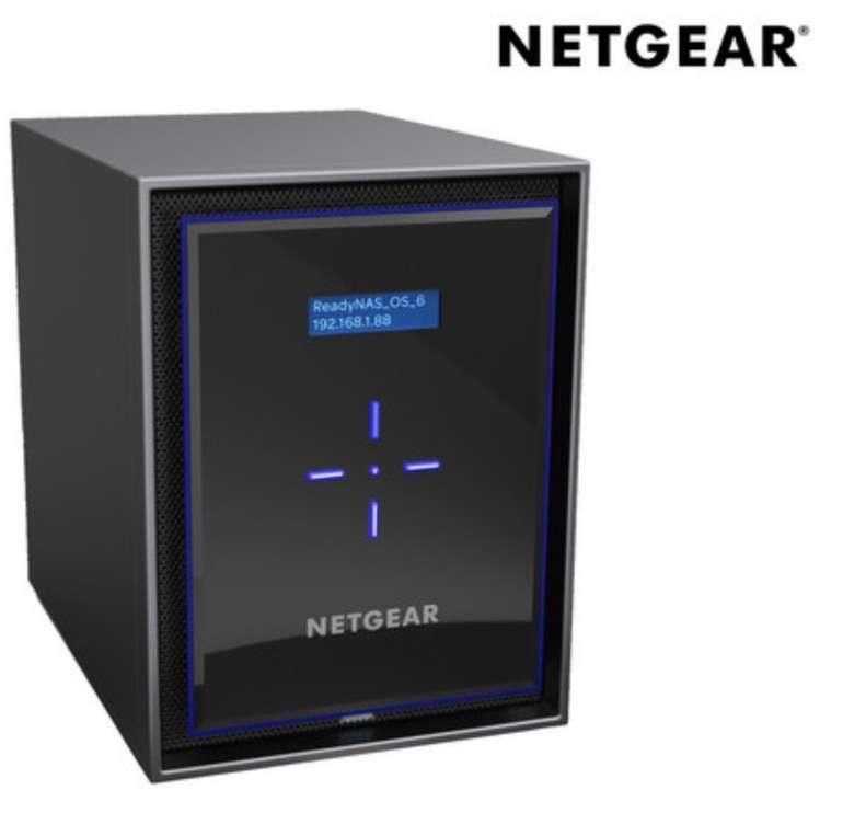 Netgear RN42800-100NES - 8-Bay-NAS-Server (Leergehäuse, 4x Gigabit LAN, 4 GB RAM) für 408,90€