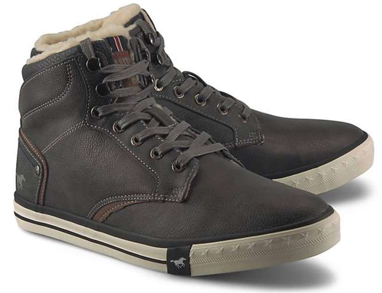 Mustang Herren Winter-Sneaker in dunkelgrau oder braun für 28,78€ inkl. Versand (statt 57€)