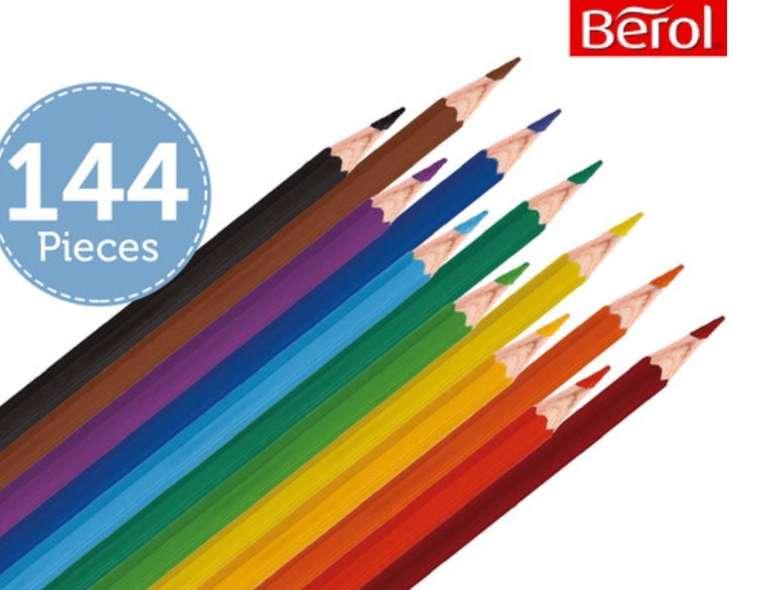 Berol Buntstifte Verithin - 144 Stück in verschiedenen Farben für 20,90€ inkl. Versand (statt 38€)