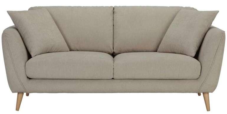 Mömax: MwSt geschenkt auf fast alles + 10% Extra - z.B. Zandiara Zweisitzer-Sofa in Beige für 493,03€