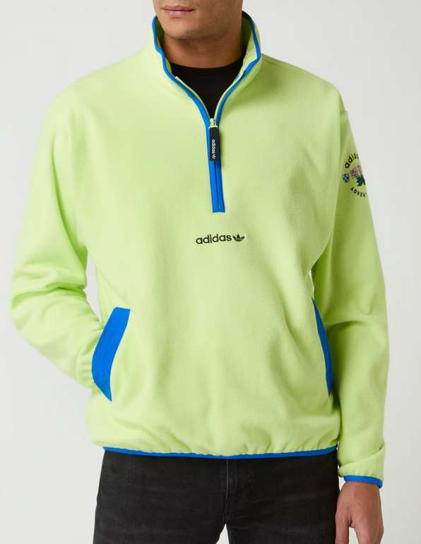 adidas Originals Troyer mit Logo in Neon Gelb für 24,99€inkl. Versand (statt 40€)