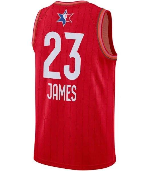 Jordan NBA Swingman Trikots z.B. Lebron James All-Star für 48,98€ inkl. Versand (statt 80€)