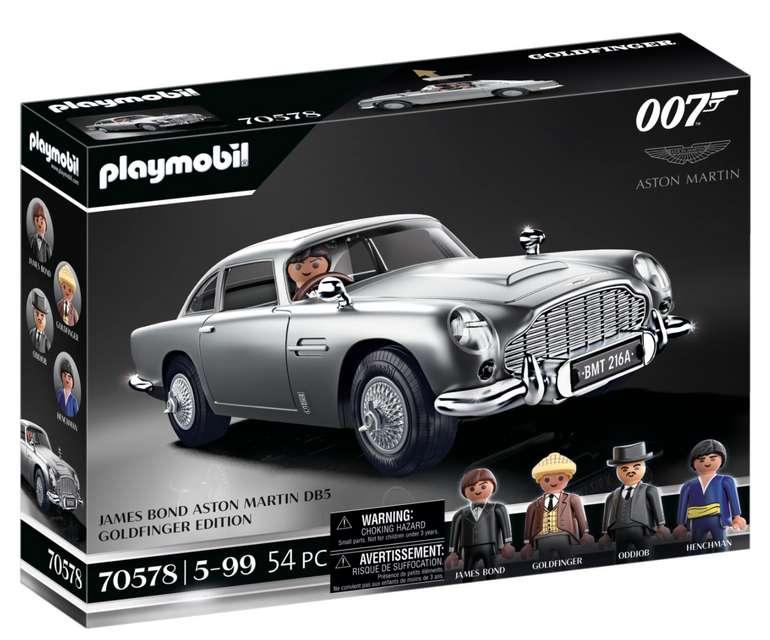 Playmobil James Bond Aston Martin DB5 (70578) für 67,99€inkl. Versand (statt 80€)