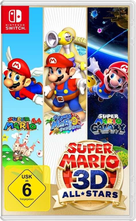 Nintendo Super Mario 3D All-Stars für 46,40€ (statt 53€) - Newsletter Gutschein