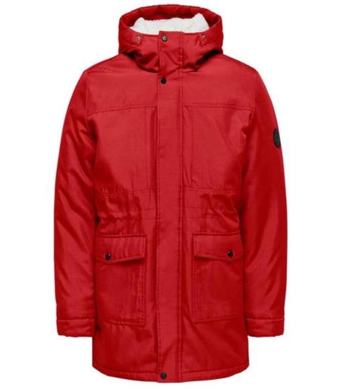 25% Rabatt auf bereits reduzierte Jacken - z.B. Only & Sons Onsbasil Parka Jacket OTW für 27,44€
