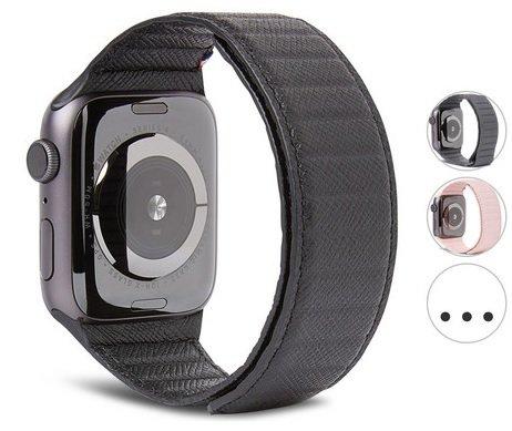Decoded magnetisches Lederarmband für die Apple Watch für 30,90€ inkl. Versand (statt 50€)