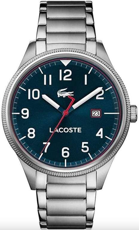 Amazon Prime Day: Lacoste Continental Herren Analog Quarz Armbanduhr mit Edelstahlarmband (2011022) für 79€