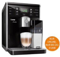 Saturn Late Night Shopping z.B. mit Saeco HD8769/01 Kaffeevollautomat für 444€