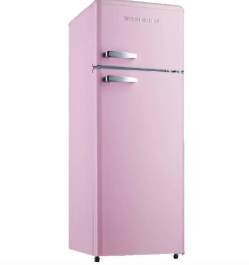Wolkenstein GK212.4RT Kühlgefrierkombination in rosa oder blau für je 279€