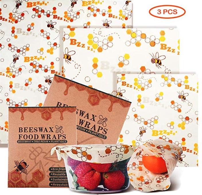 3er Pack Ayouya - wiederverwendbare Bienenwachstücher für 10,19€ (Prime)