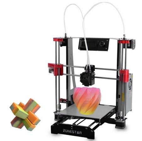 ZONESTAR M8R2 Mixed Color Printing DIY 3D Drucker für 190,69€