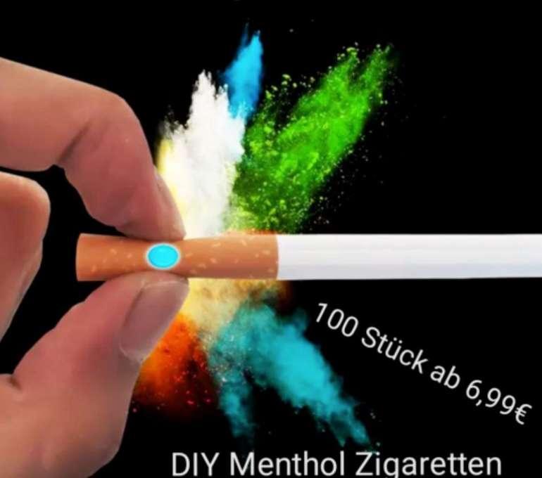 100 Klick&Roll Aroma Kapseln (Menthol oder Frucht) für Zigaretten nur 6,99€ inkl. Versand (statt 9€)