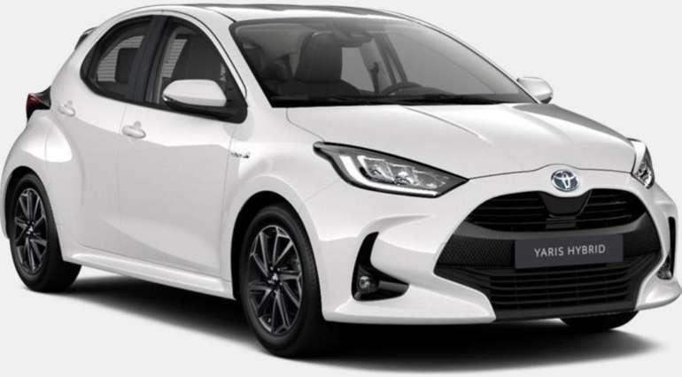 Privat Leasing: Toyota Yaris Hybrid - 5-Türer mit 116 PS für 129€ mtl. (Überführung: 999€, LF: 0.56)