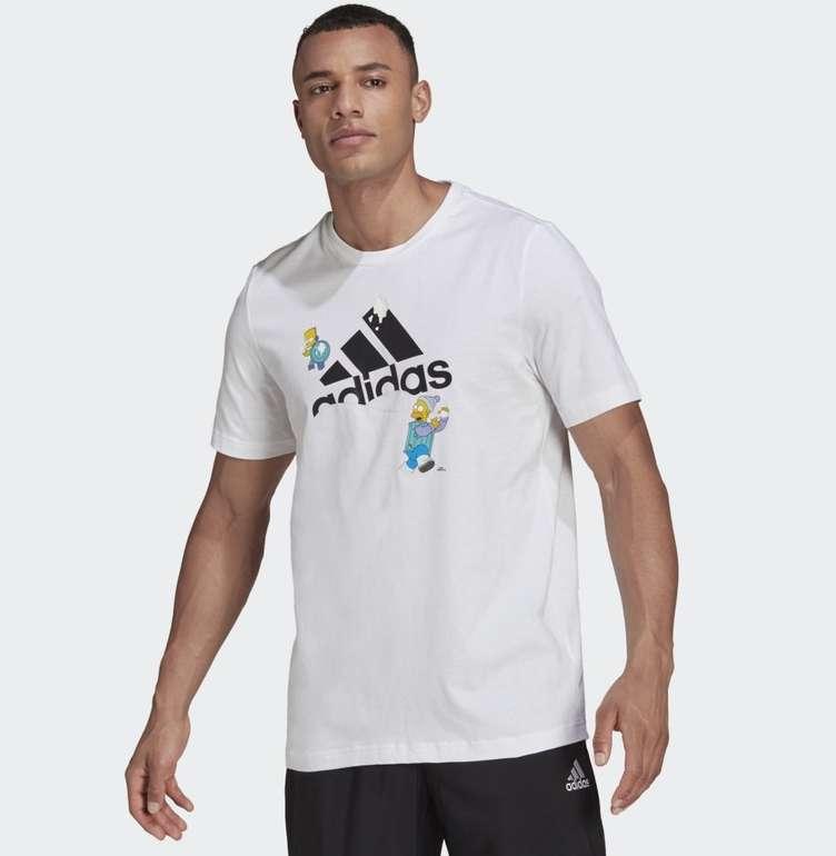 Adidas x The Simpsons Snowball Fight Graphic T-Shirt in 2 Farben für je 21€ (statt 30€) - Creators Club