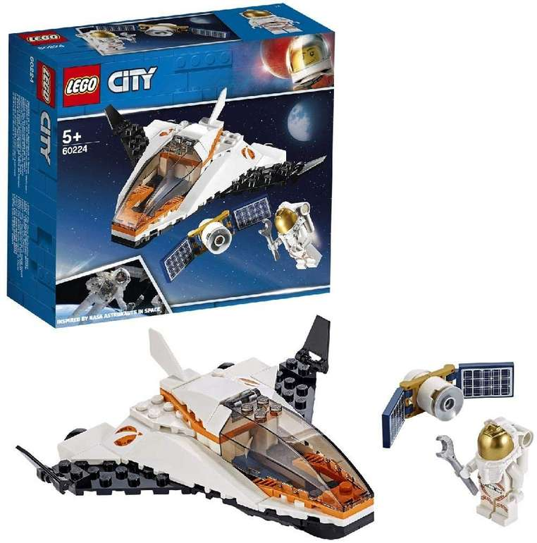 Lego City 60224 - Satelliten-Wartungsmission für 7,14€ inkl. Prime Versand (statt 12€)