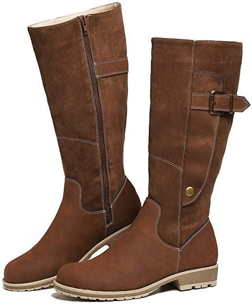 Gracosy Damen PU Leder Stiefel in 4 Farben für je 29,24€ inkl. Versand (statt 40€)