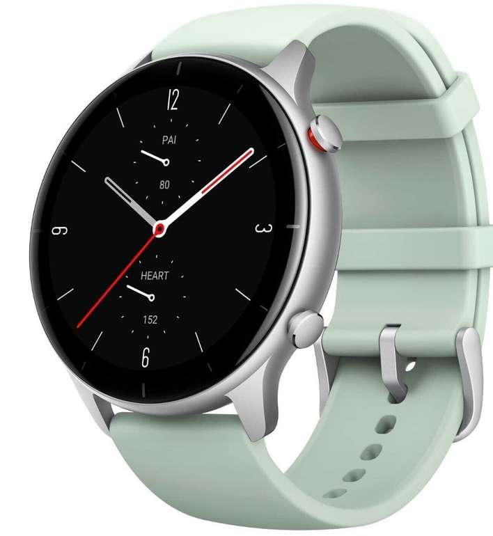 Amazfit GTR 2e Smartwatch (GPS, HR-Sensor, Alu-Gehäuse) für 89€ (statt 103€)