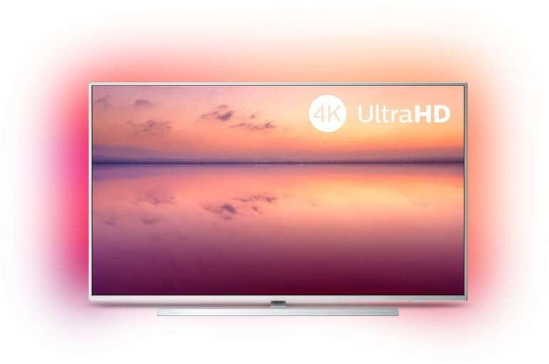 Philips 50PUS6814 - 50 Zoll 4K UHD LED Smart-TV mit 3-seitigem Ambilight für 424€ (statt 488€)