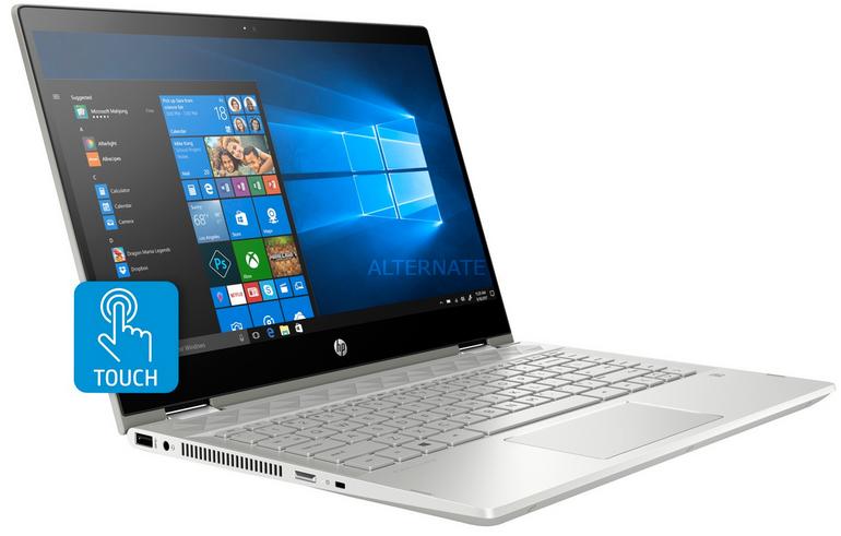"""HP Pavilion X360 14-CD1003NG Convertible (14"""", i5, 8GB RAM) für 604,99€"""