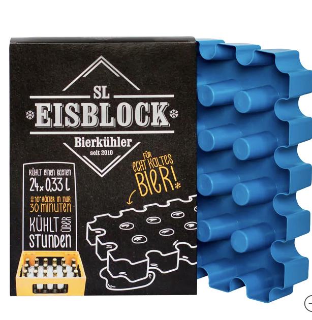 SL Eisblock Bierkühler für 0,33l Flaschen für 6,99€ inkl. Versand (statt 11€)