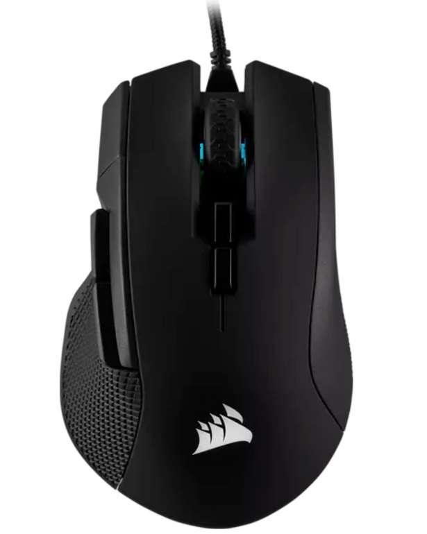Corsair Ironclaw Gaming Maus in Schwarz für 41,99€ inkl. Versand (statt 50€)