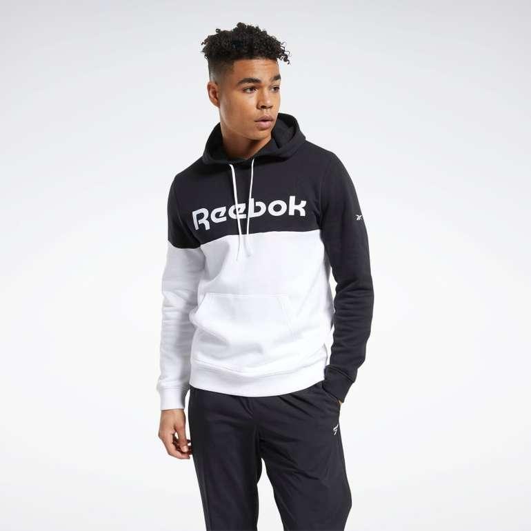 Reebok Sweatjacke Training Essentials Logo Hoodie für 34,08€ inkl. Versand (statt 45€)