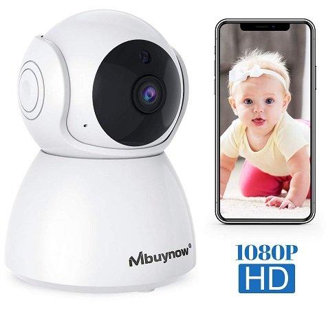 Mbuynow WLAN IP Überwachungskamera mit 1080P Auflösung für 18,99€ inkl. VSK