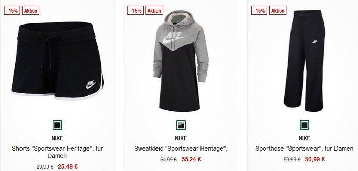 Galeria Kaufhof 15% Rabatt auf Sport-Artikel