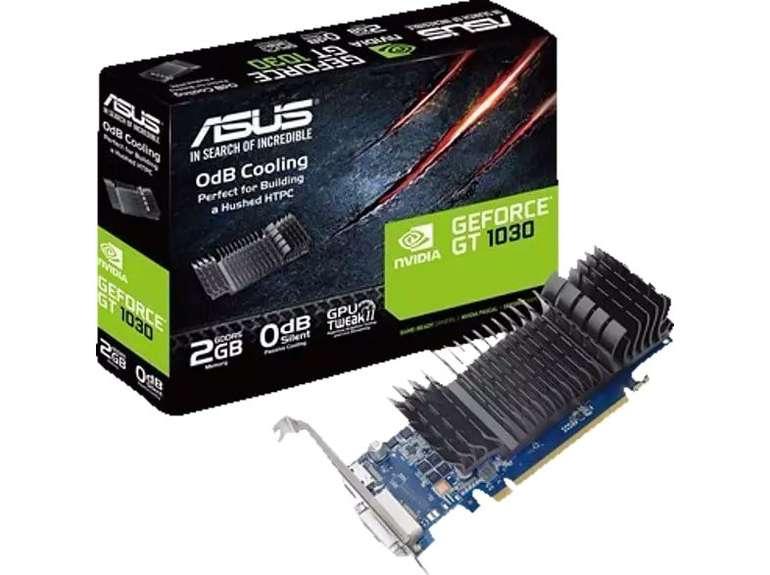 Asus GeForce GT 1030 2GB passiv Grafikkarte (+Füllartikel) für 75,66€ inkl. Versand (statt 96€) - Newsletter Gutschein