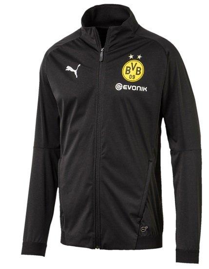Puma BVB Borussia Dortmund Herren Softshell Jacke mit Sponsorlogo für 29,99€ (statt 50€)