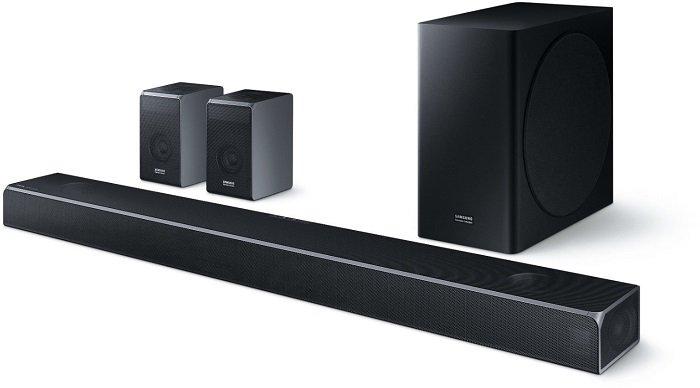 Samsung HW-Q90R/ZG 7.1.4-Kanal Soundbar mit 510 Watt für 879,20€ inkl. Versand